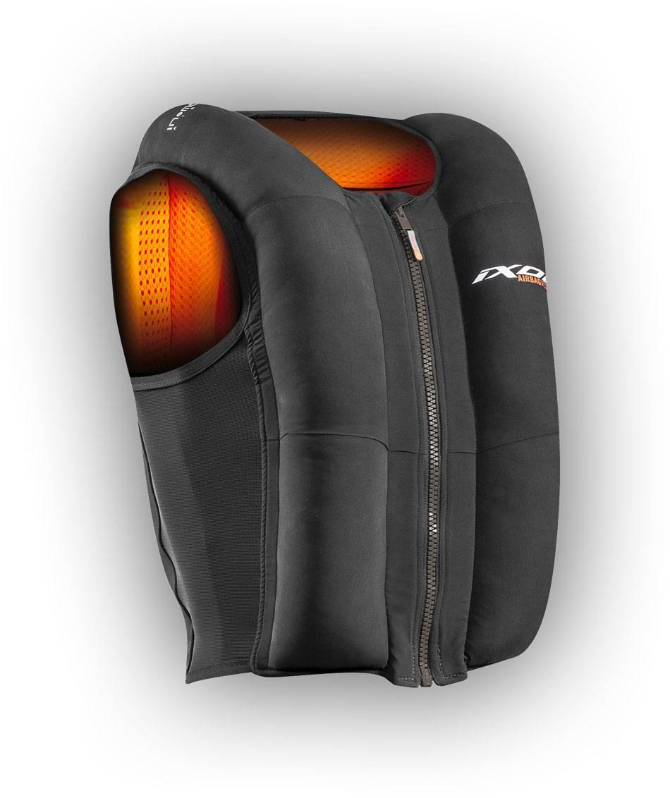 nouveau airbag ixon ix u03 la clinique du scooter. Black Bedroom Furniture Sets. Home Design Ideas